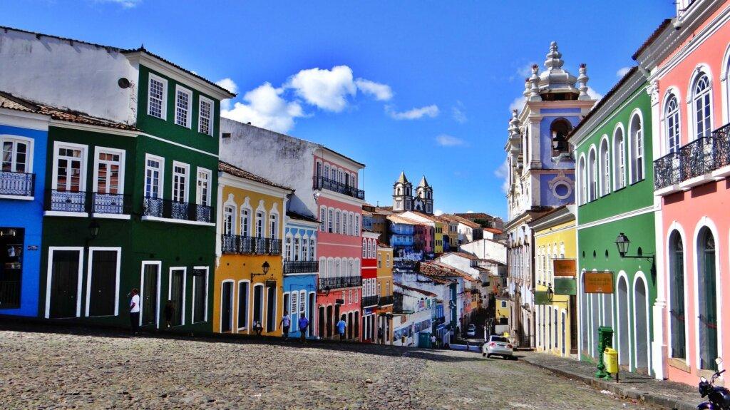 サルバドールの美しい街並み ブラジル